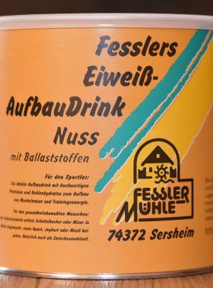 Fesslers Eiweiß-Aufbaudrink Nuss 40 mit Ballaststoffen