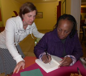 Interview mit Libertina Inaviposa Appolus-Amathila in Namibia