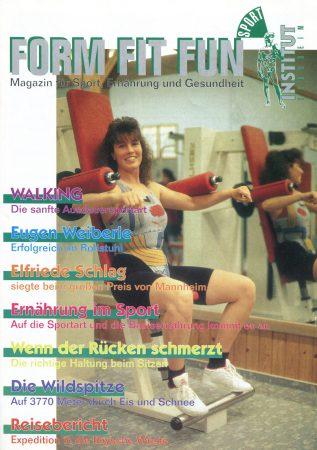 Seit 1990 Herausgener des Magazin Form Fit Fun