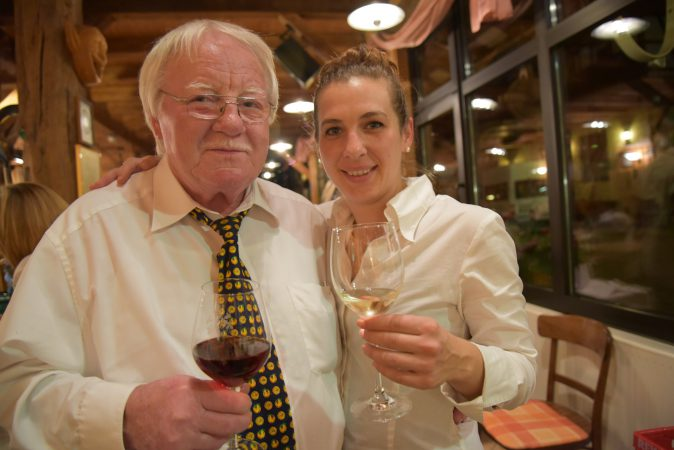 Horst Krauter und Nadine Fessler