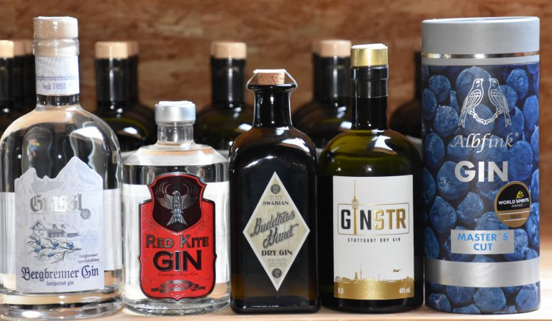Gin Tasting des Württemberger Whiskyclub