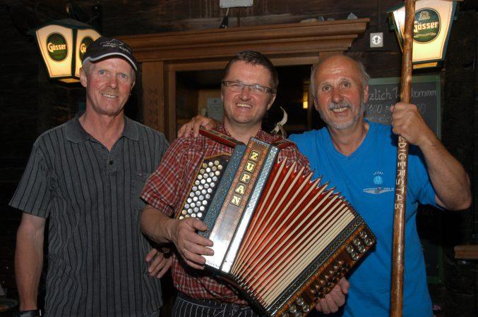 Sigi Hatzer und Eddi Egger, Osttirol