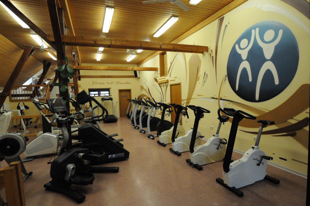 Einer unserer Herz-Kreislauf-Trainingsräume mit besonderem Ambiente in dem Ausdauertraining Spaß macht.