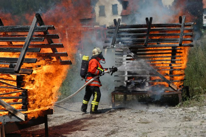 Über das Feuerlöschwesen berichtet