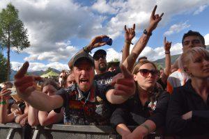 Über unzählige Festivals berichtet