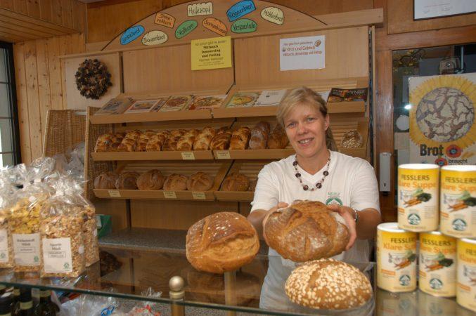 Brote aus der eigenen Bäckerei