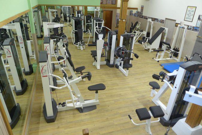 Moderne Trainingsräume