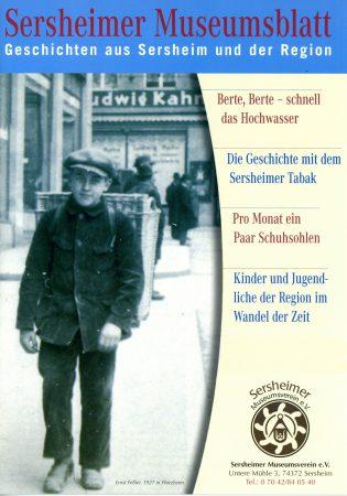 Redakteur des Sersheimer Museumsblattes