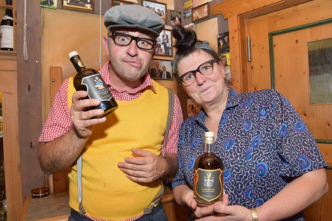 Kabarettisten Alois und Elsbeth Gscheidle