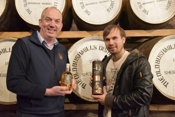 EHRENMITGLIED ( honorary Member ) Colum Egan, Masterdestiller Old Bushmills Distillery, Irland