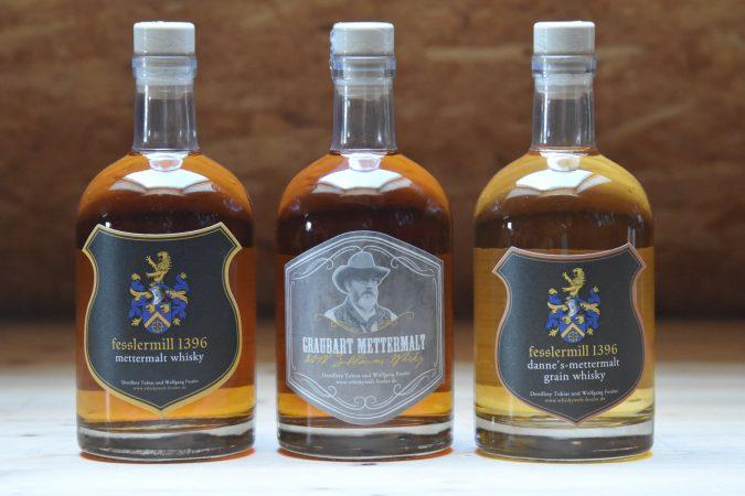 Gin aus der fesslermill Destillerie