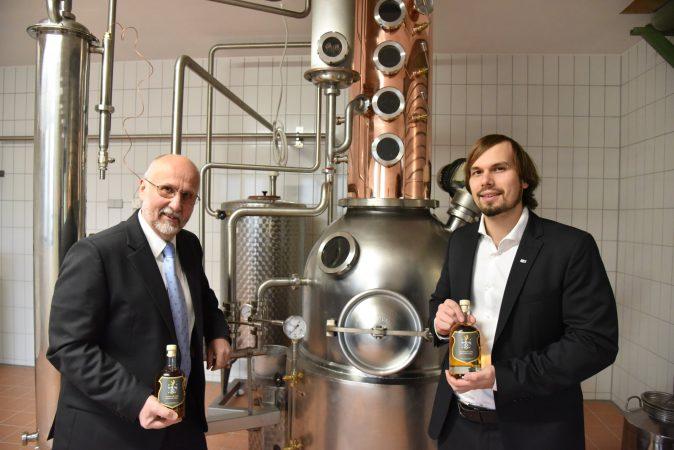 Wolfgang und Tobias Fessler