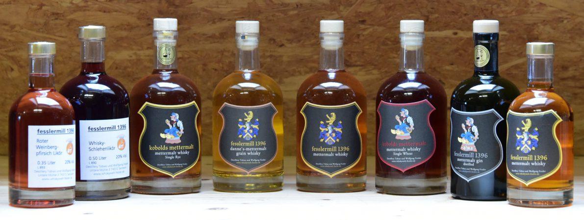 fesslermill 1396 whisky