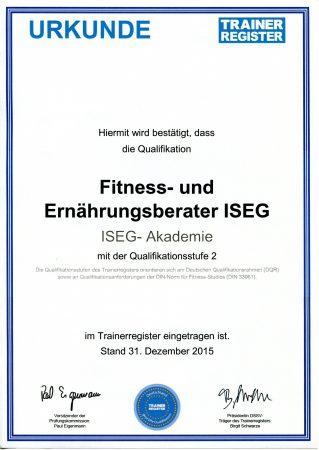Zertifizierte Weiterbildung