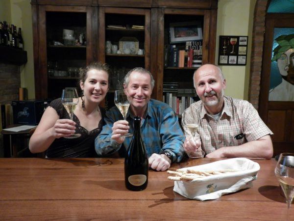 Freunde: Antonio Deltetto und die Fessler's