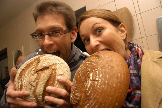 Brot aus der eigenen Mühlenbäckerei