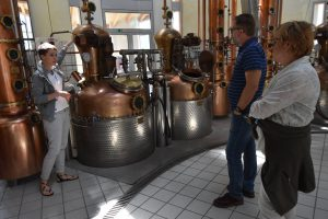 Zu Gast in der Marzadro- Destillerie