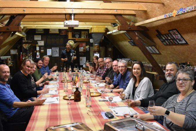 Tasting beim Württemberger Whiskyclub