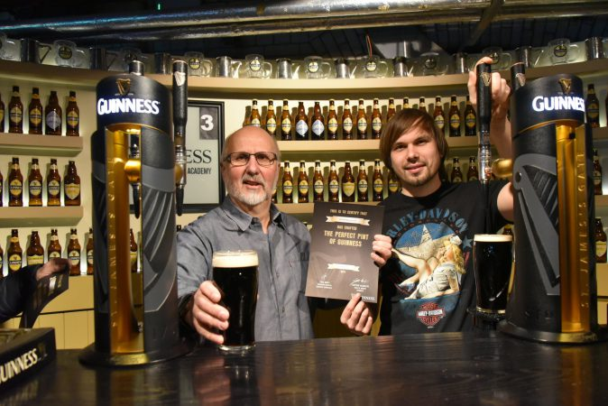 Besuch bei Guinness