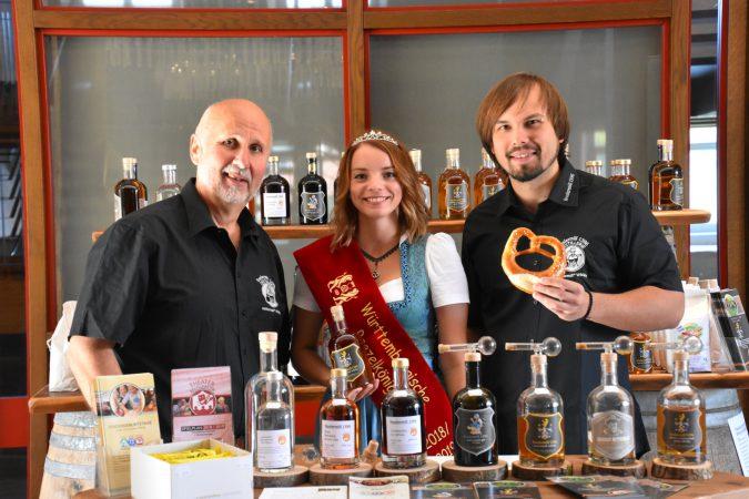 Württembergischen Brezelkönigin zu Gast beim Wüttembergischen Whiskyclub