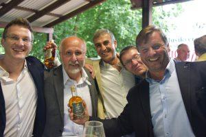 Whiskyfreunde aus nah und fern treffen sich in der Fessler Mühle