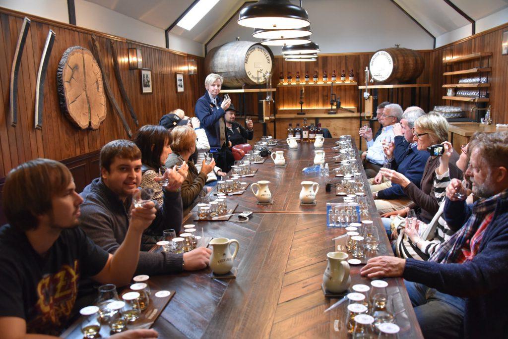 Fast täglich standen Whiskytastings auf dem Programm