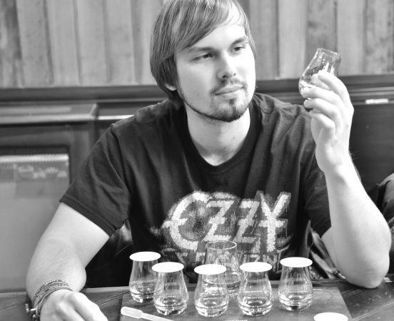 Whiskytasting bei Kollegen