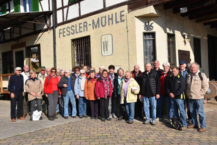 Fleiner Seniorensportler zu Gast in der Fessler Mühle