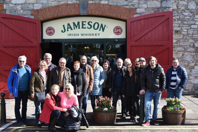Besuch bei Jameson
