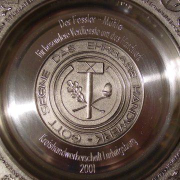 Ehrenteller der Kreishandwerkerschaft Ludwigsburg