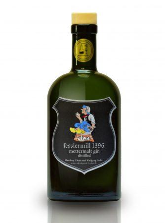 Schwäbischer Dry Distilled alwa mettermalt Gin