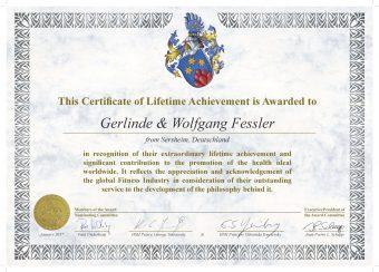 Gerlinde und Wolfgang Fessler für ihr Lebenswerk ausgezeichnet