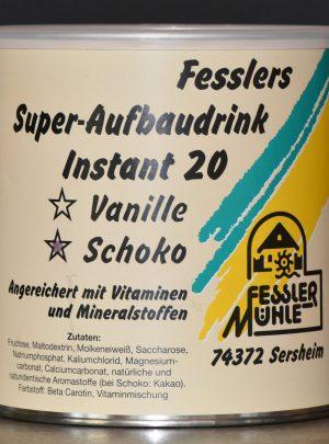 Fesslers Super-Aufbaudrink Instant 20