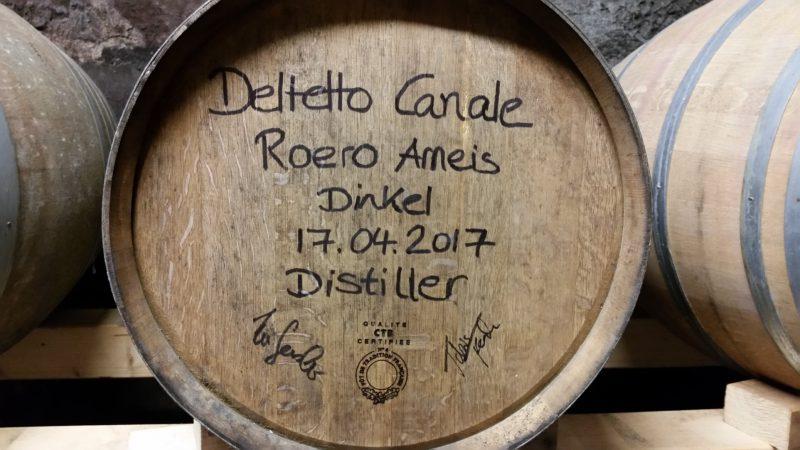 Whisky lagert in besonderen Fässern