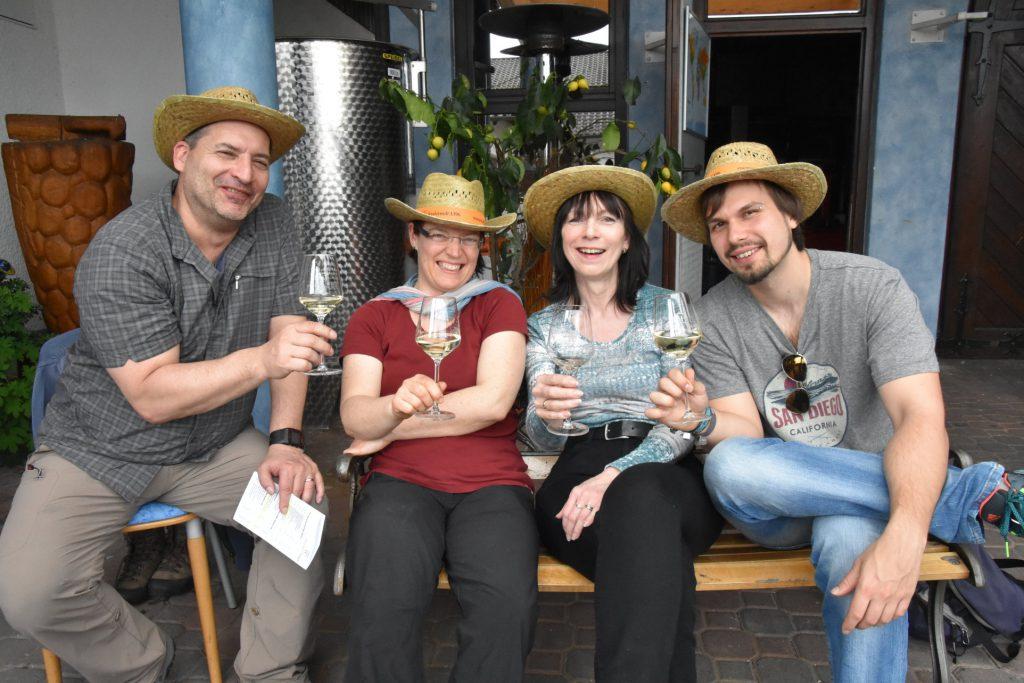 Beim Weingut Dieter Faigle in Horrheim kommt Freude auf
