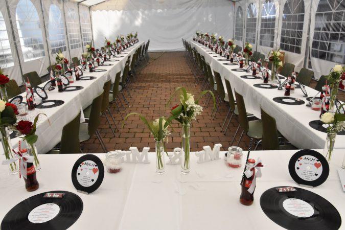 Hochzeit im Zelt der Fessler mühle