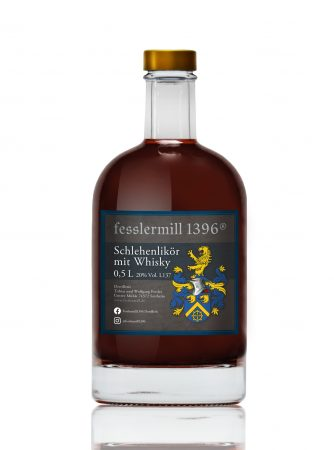 Schlehenlikör mit Whisky