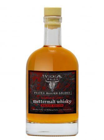 mettermalt Wacken Whisky - Der erste offizielle Wackenwhisky aus der fesslermill1396 Destillerie