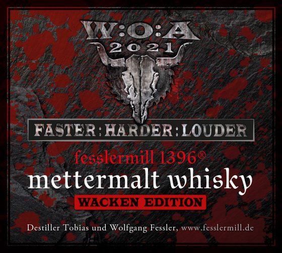 Der erste offizielle Whisky für das Wacken Open Air kommt aus der fesslermill 1396® Destillerie in Baden-Württemberg