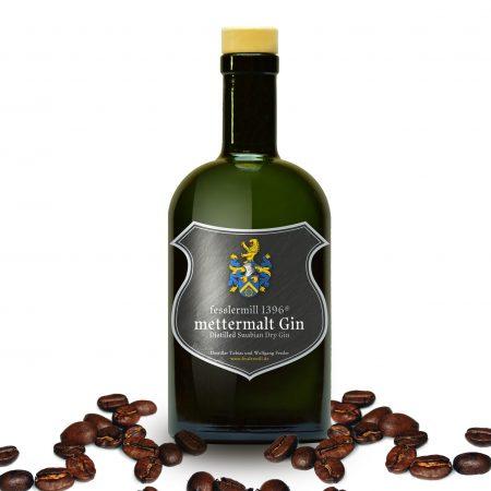 mettermalt Gin Wildbader Kaffee Bohne