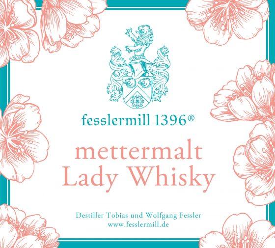 Lady Whisky aus der fesslermill 1396® Destillerie
