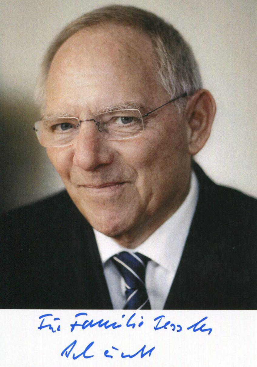 Dr. Wolfgang Schäuble MdL gratulierte zu 625 Jubiläum