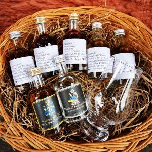 Mettermalt Whisky Gin und Rum