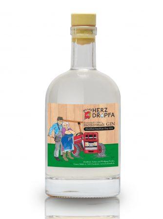 Hillus Herzdropfa mettermalt Gin